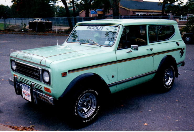 John Hoffmann's 1979 International Scout II
