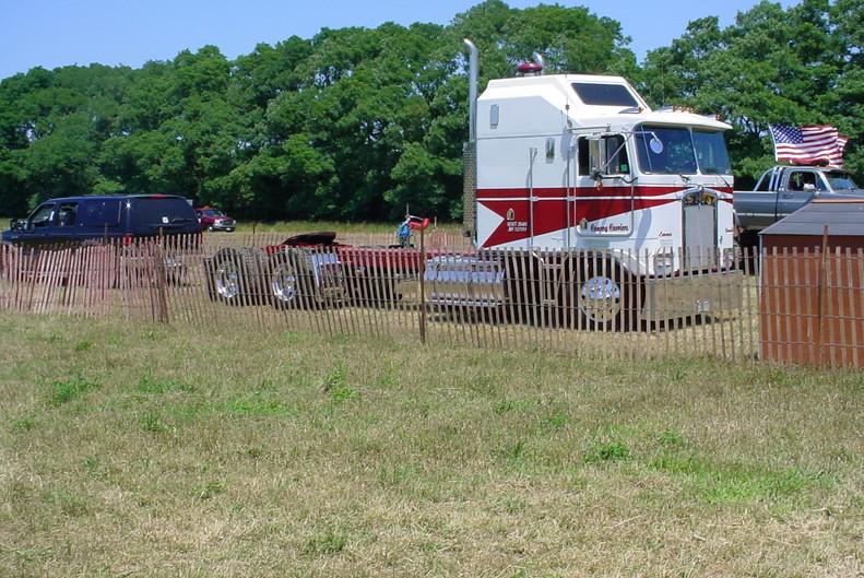 Ken Conroy's 2001 Kenworth K-100 COE tractor