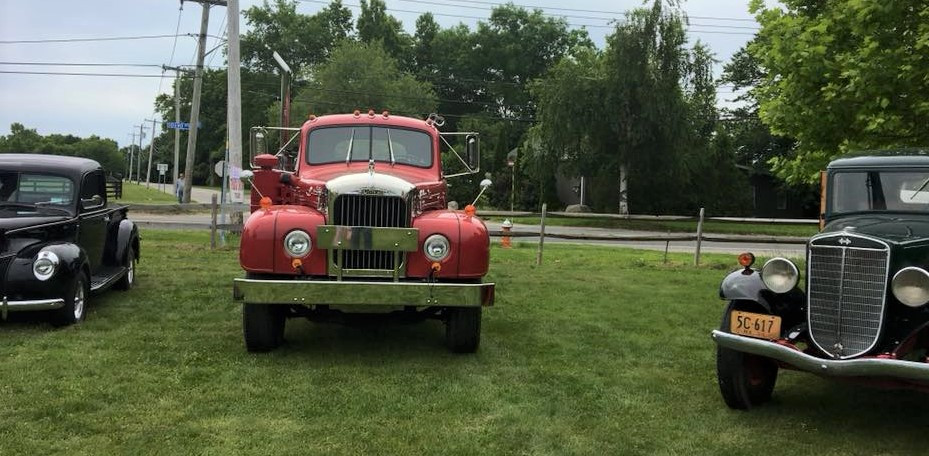 Antique trucks of all sizes