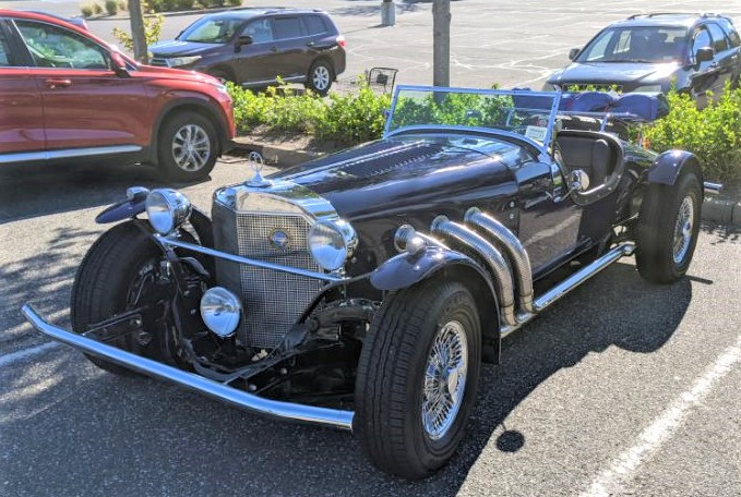 Philip Huntington's 1965 Excalibur convertible roadster
