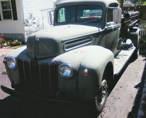 1942 Ford Ward LaFrance pumper - Dan Ryan