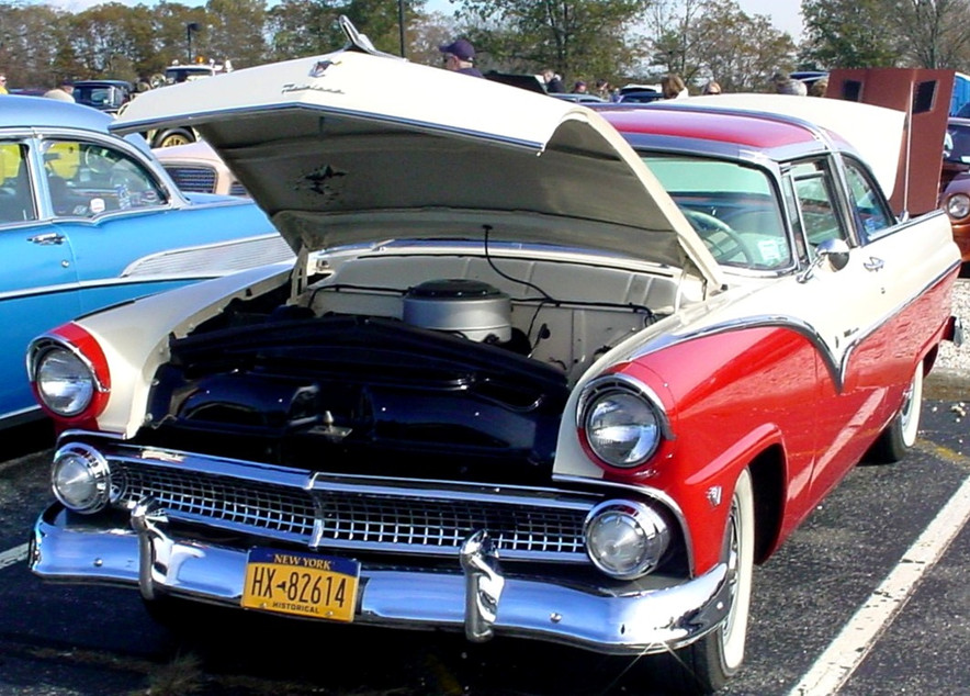 Howard Sedell's 1955 Ford Crown Victoria