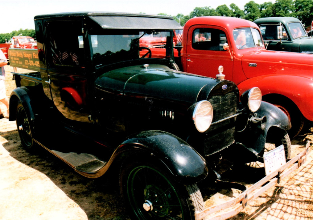 1929 Ford Model A pickup - Peter Bizzoso