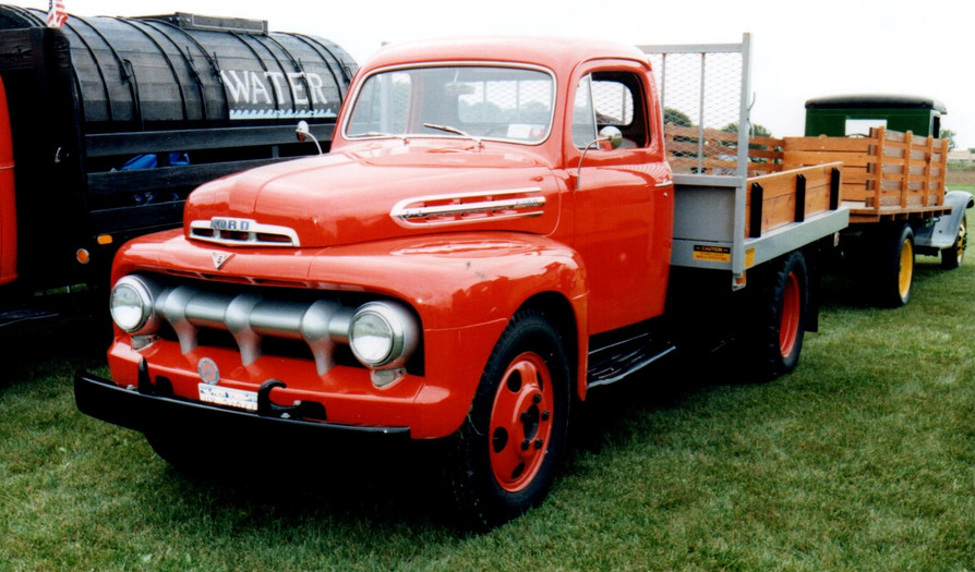 1951 Ford flatbed