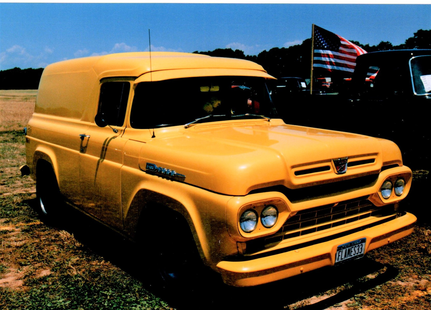 1960 Ford F-100 panel