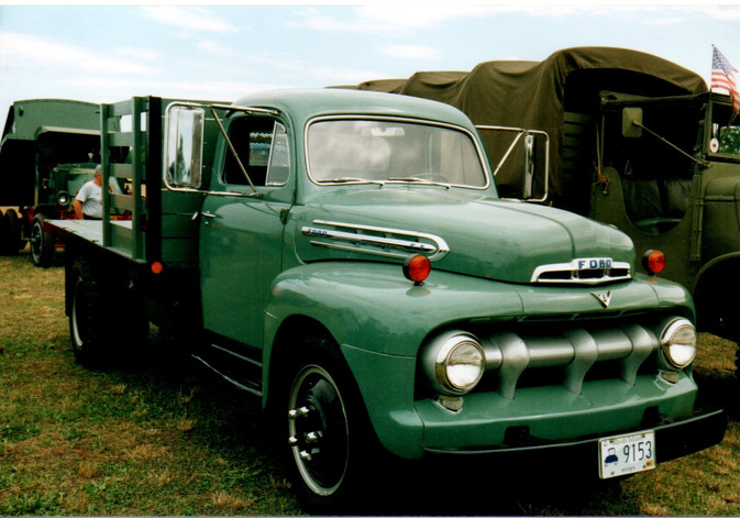 1951 Ford F-5 flatbed from Rhode Island