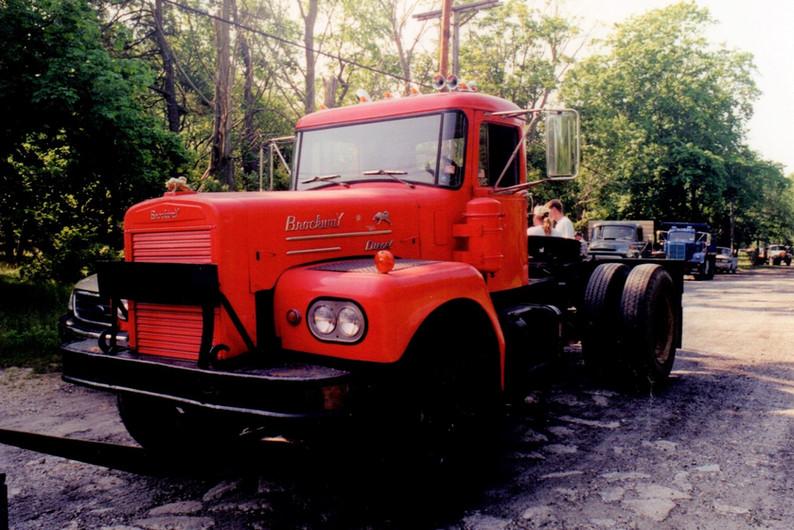 Pat McKeegan's 1962 Brockway tractor