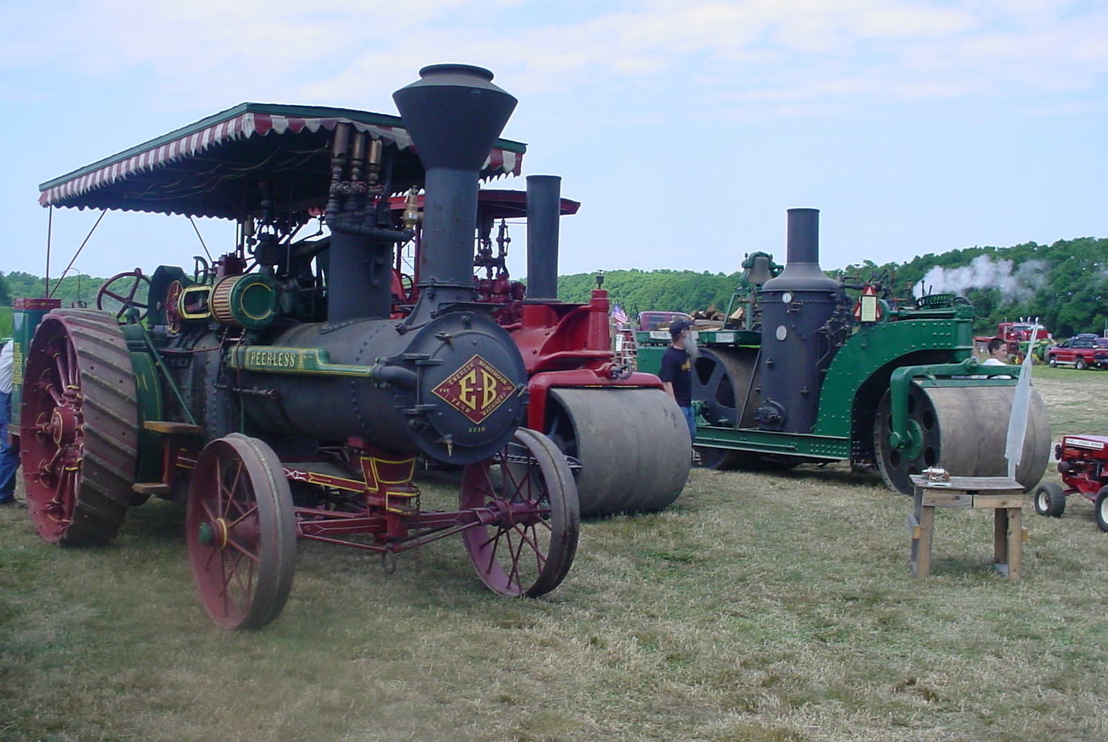 LIAPA's steam tractor & rollers