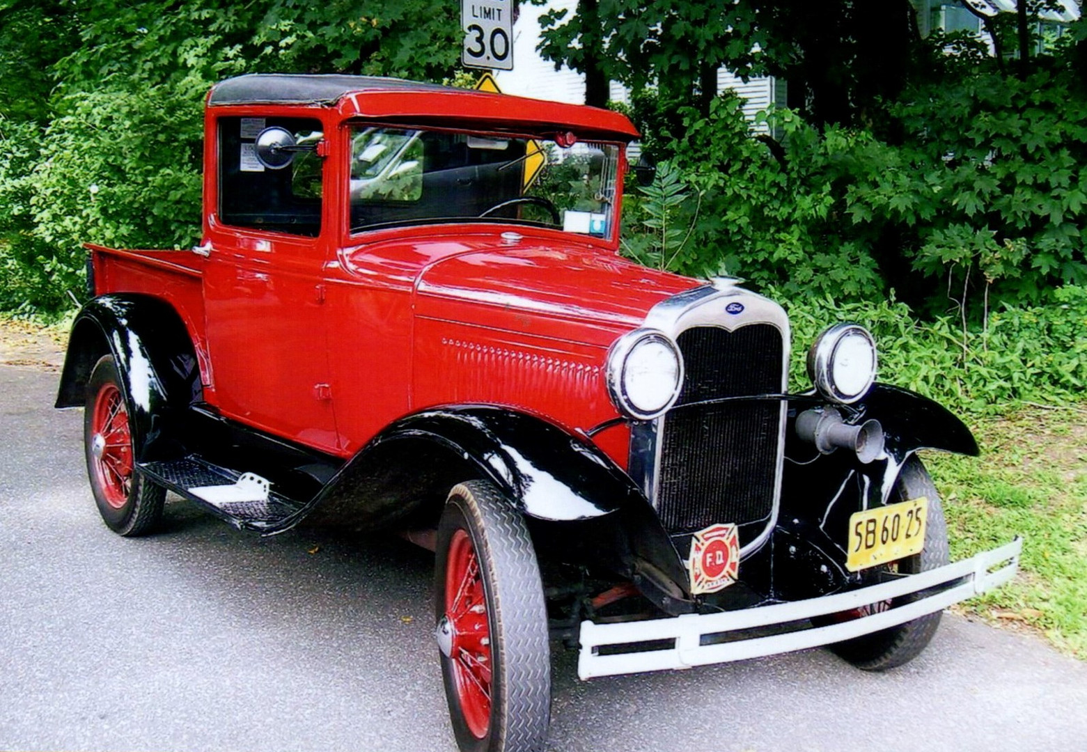 Walter Blessing's 1931 Ford Model A
