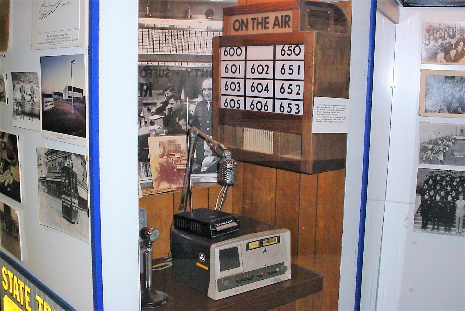 Old police radio