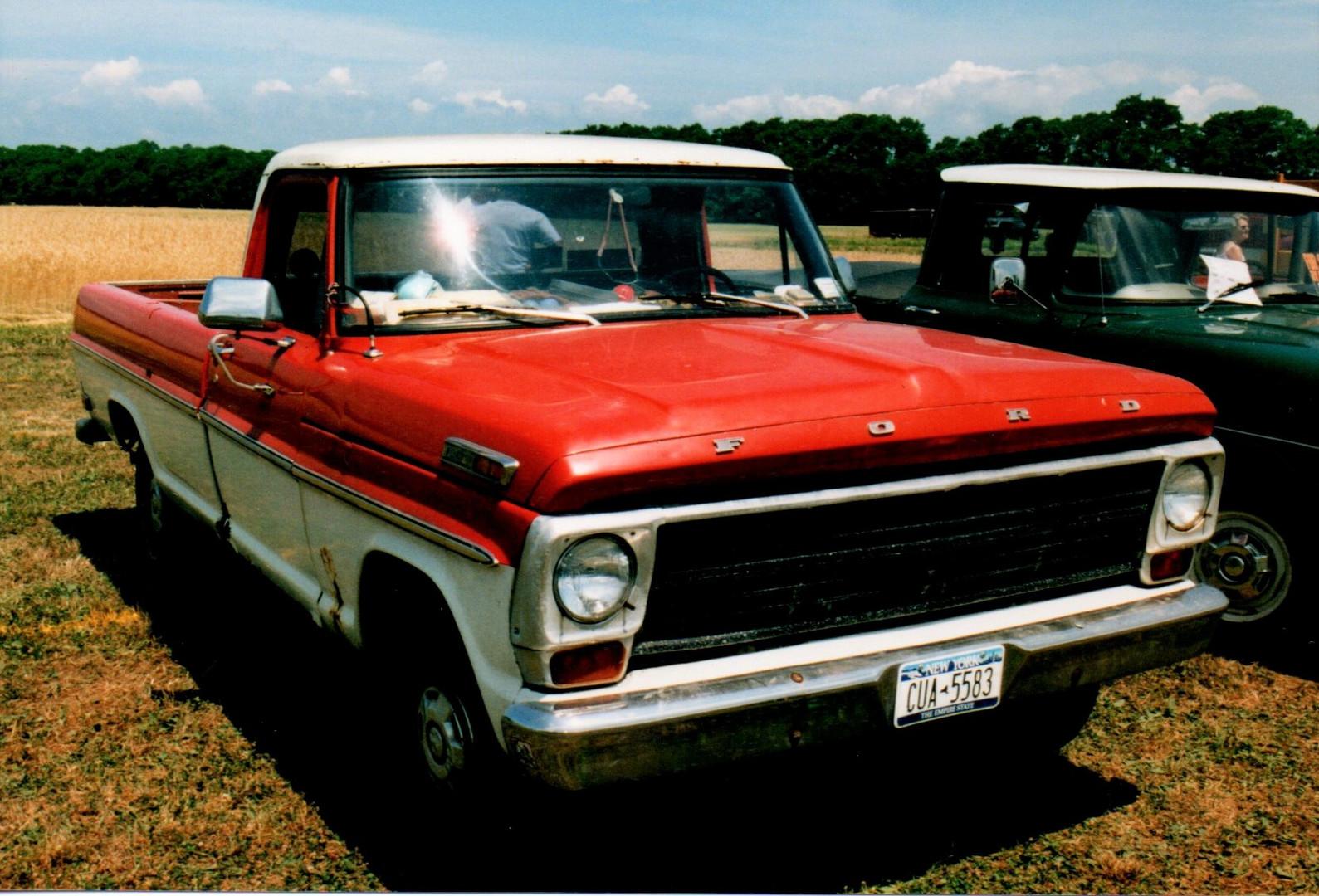 1969 Ford F-100 pickup