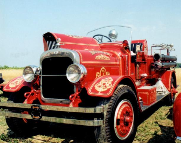 1930 Seagrave hose wagon - Mattituck F.D.