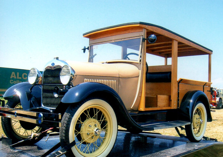 1928 Ford Model A Huckster