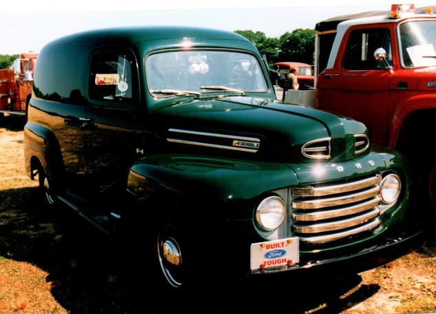 1950 Ford F-1 panel Mel Cohen