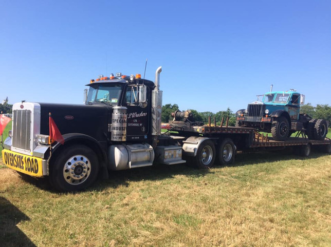 1986 Peterbilt tractor & 1947 Sterling HC-250H tractor