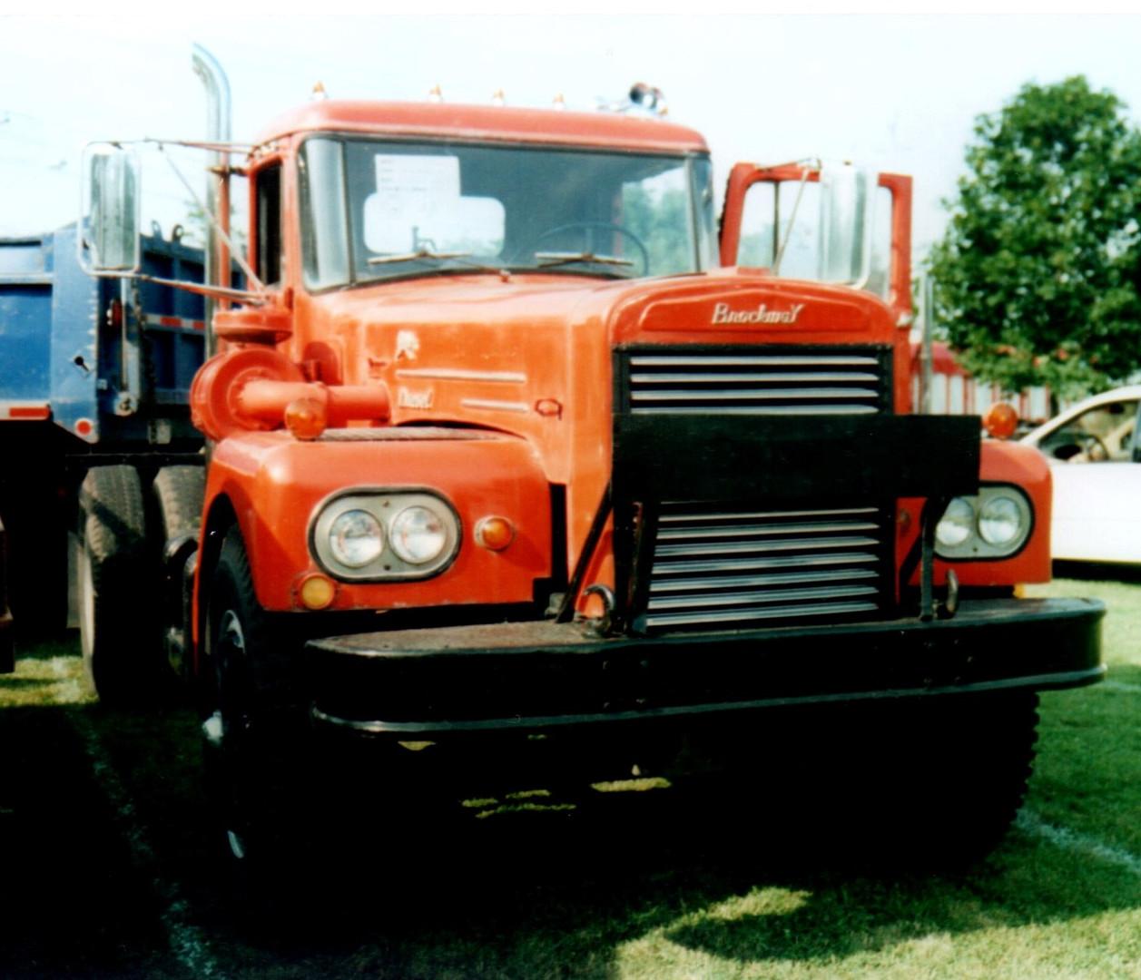 1962 Brockway 260T tractor - Chris Piazza