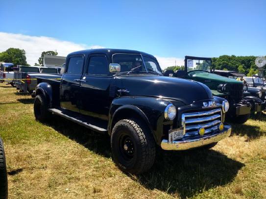 1953 Chevrolet custom quad cab pickup