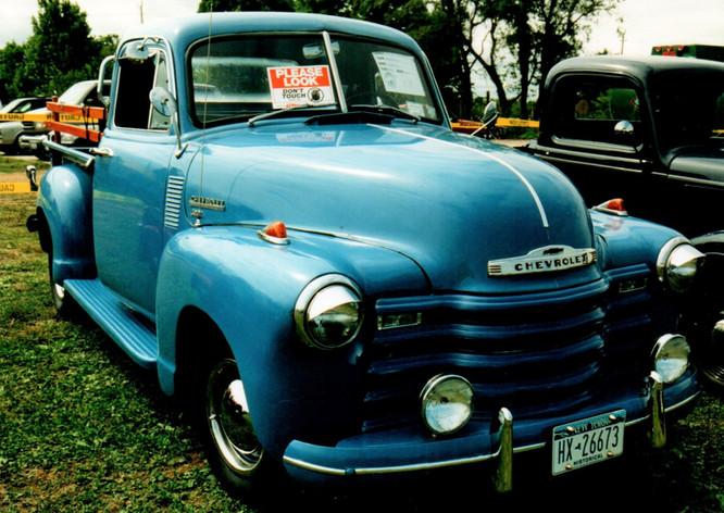 1951 Chevrolet 3150 pickup - Ralph Lombardo
