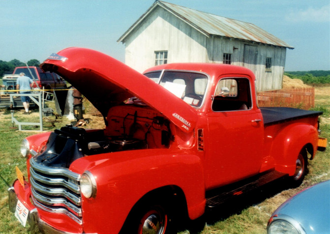 1949 Chevrolet 3100 pickup - Peter Esteve