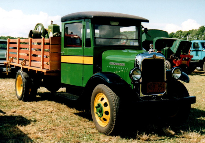 1929 GMC stake bed - Cliff Foster