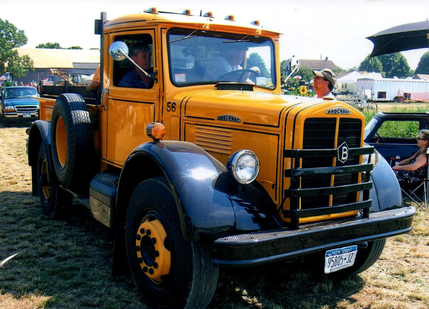 1956 Brockway pickup