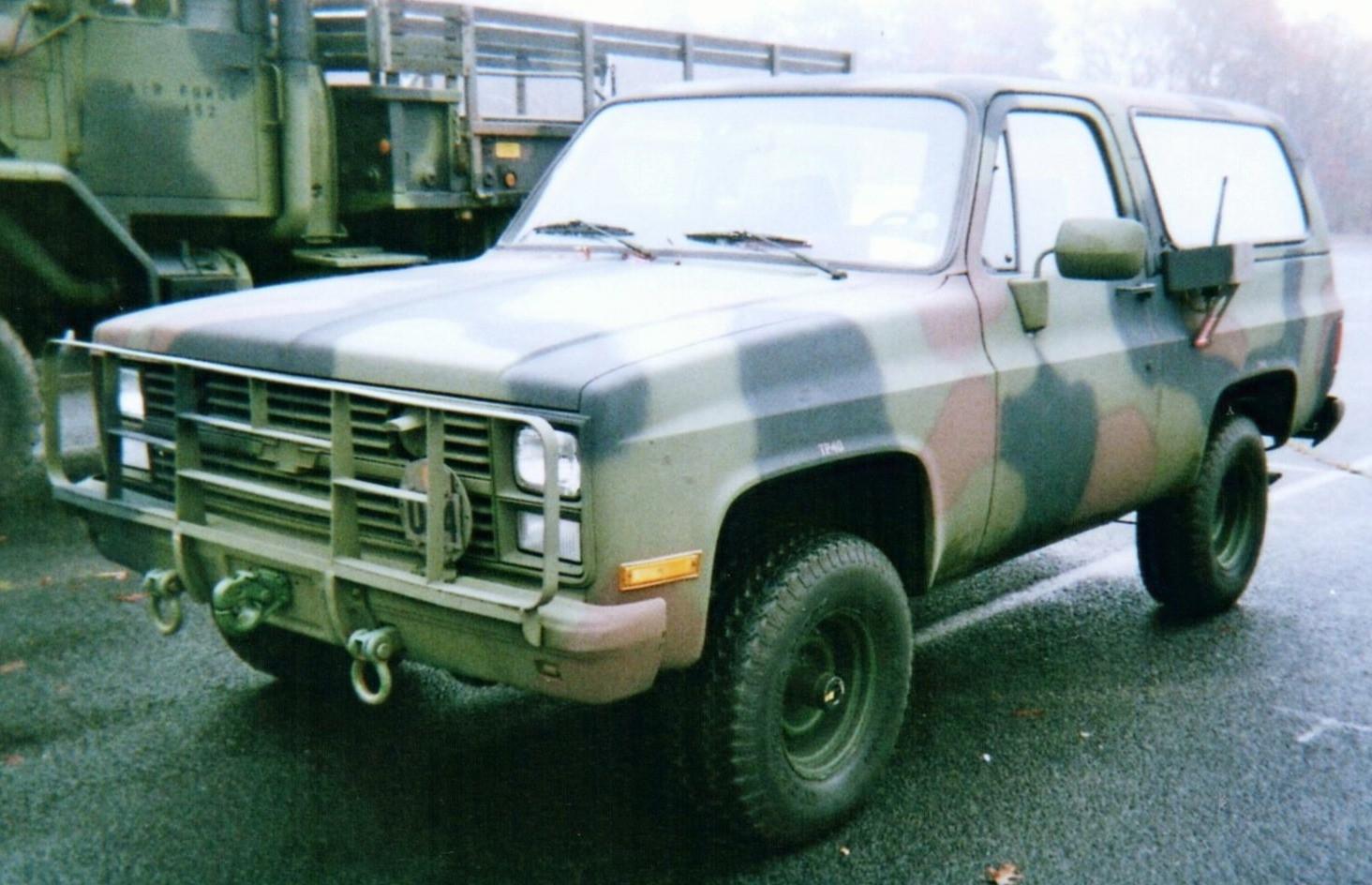 Fred Silver-Smith's 1985 Chevrolet military Blazer