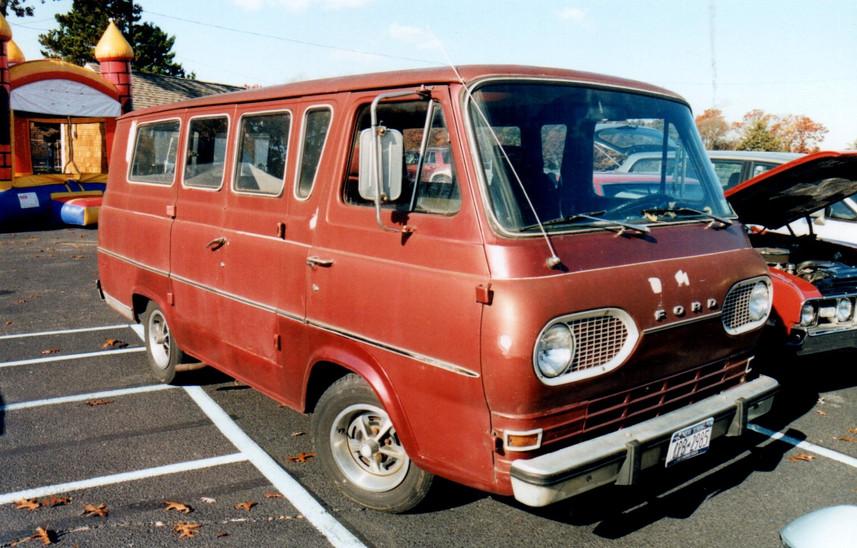 1961-67 Ford Econoline Station Bus