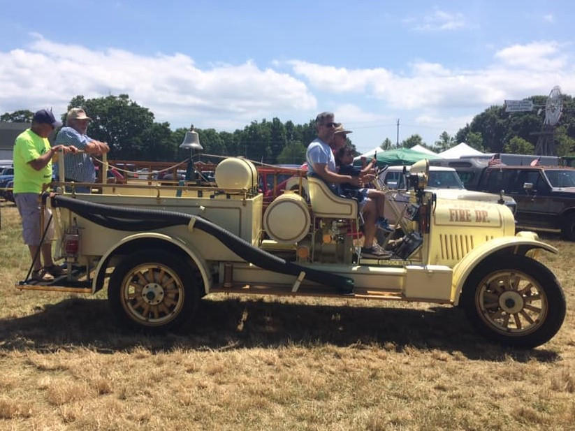 1923 Brockway in the truck & farm tractor parade
