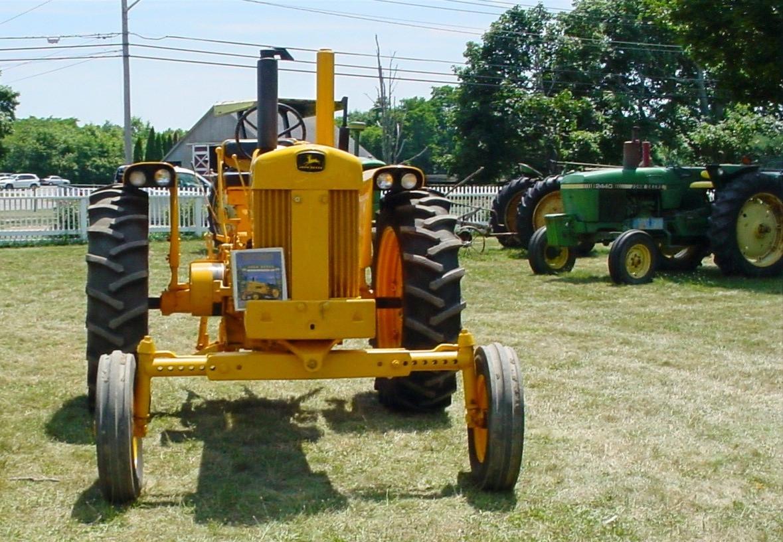 John Deere industrial tractor