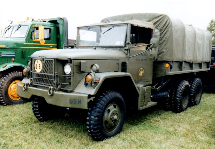Fred Smith's 1970 AM General cargo