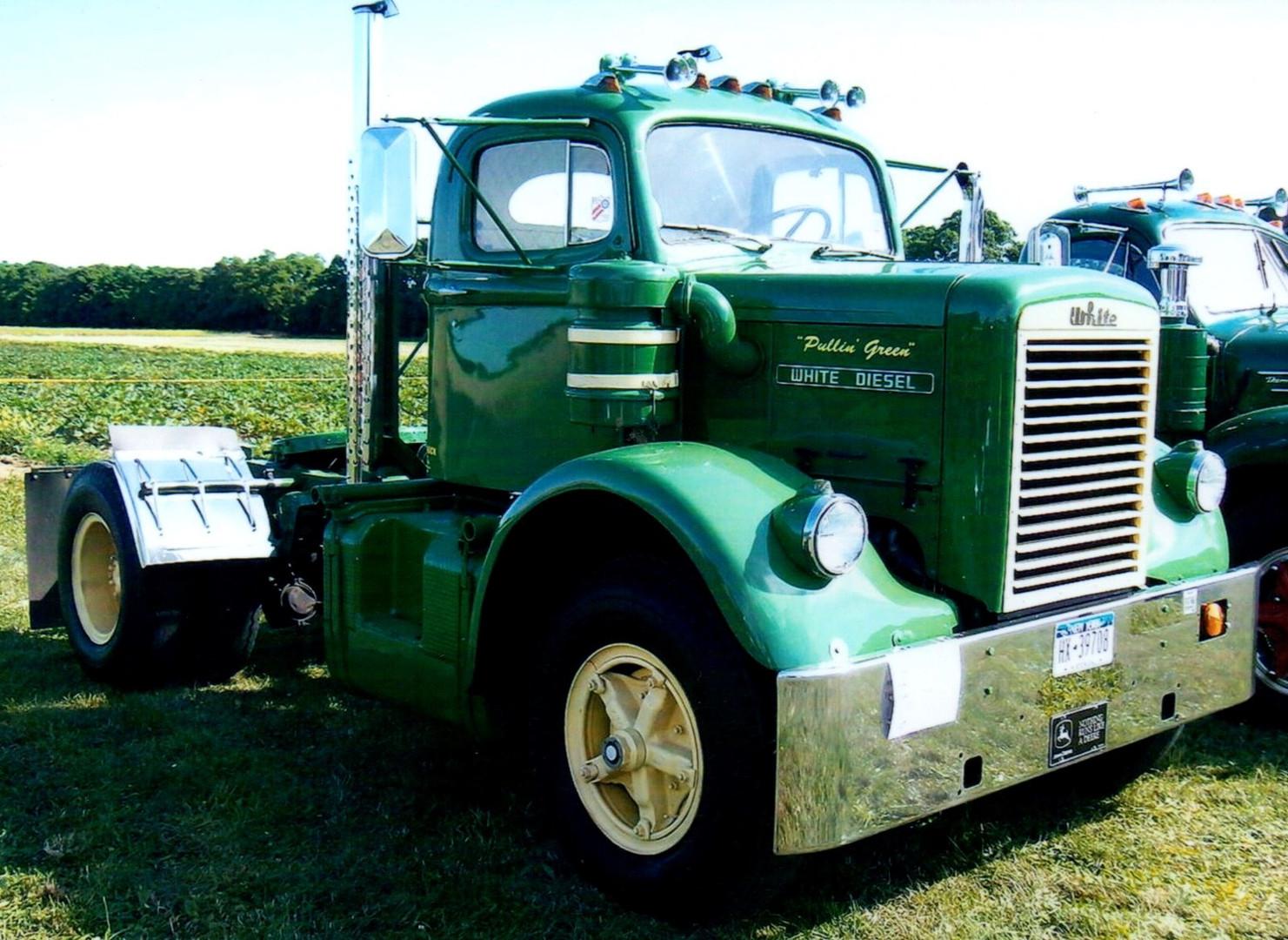 1962 White 9000 TD tractor - Terry Phelan