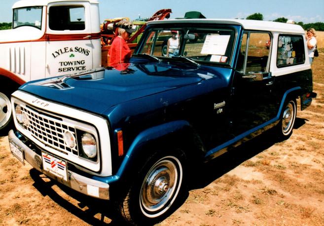 1972 AMC Jeepster Commando - Marlene Bates