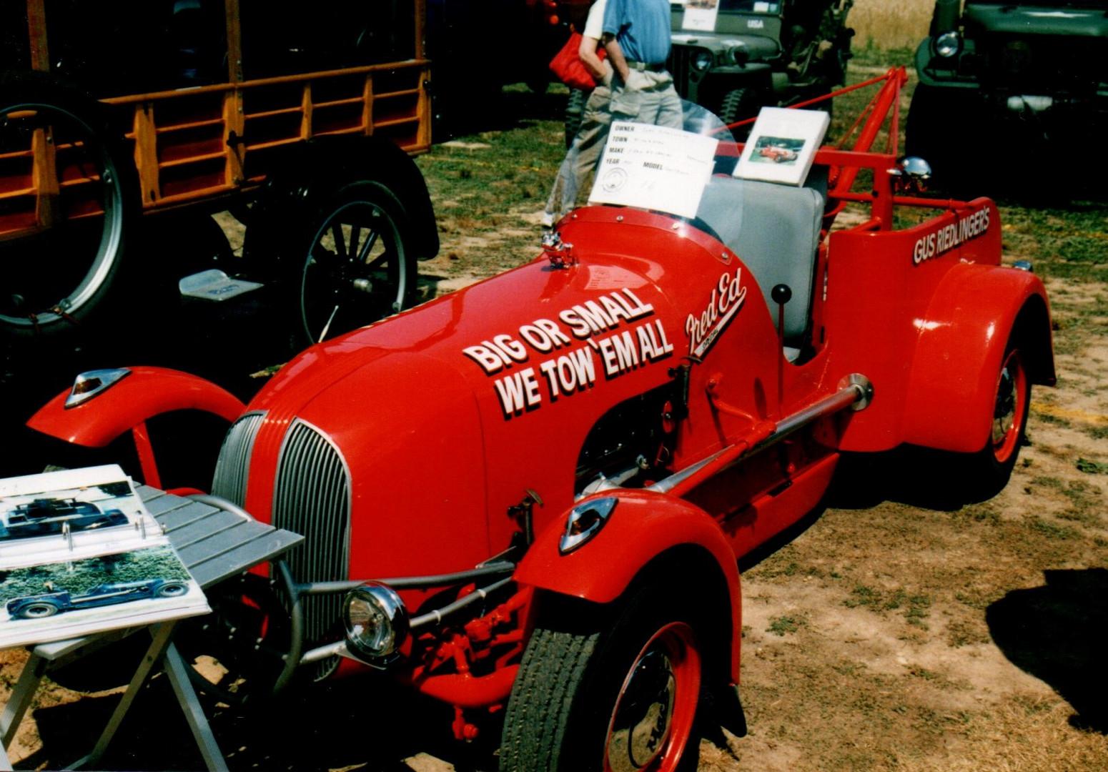 1948 Fred Ed Special homemade wrecker - John Reidlinger
