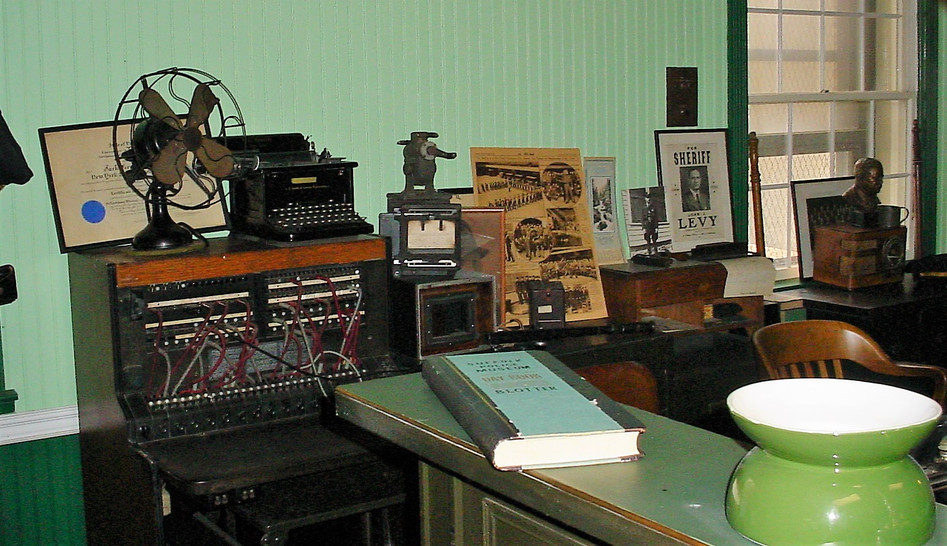 Old precinct desk