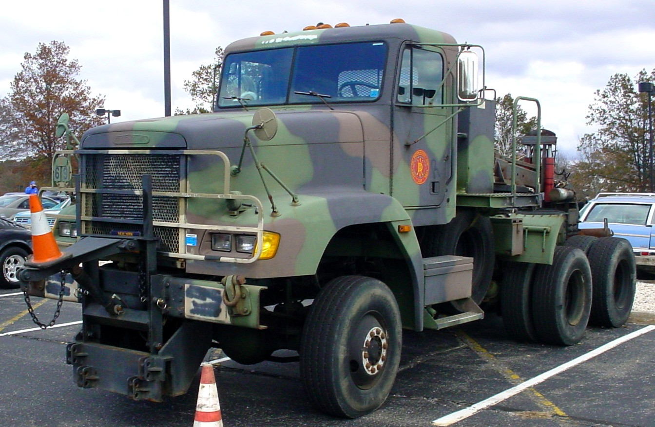 Town of Brookhaven Parks Dept. military tractor