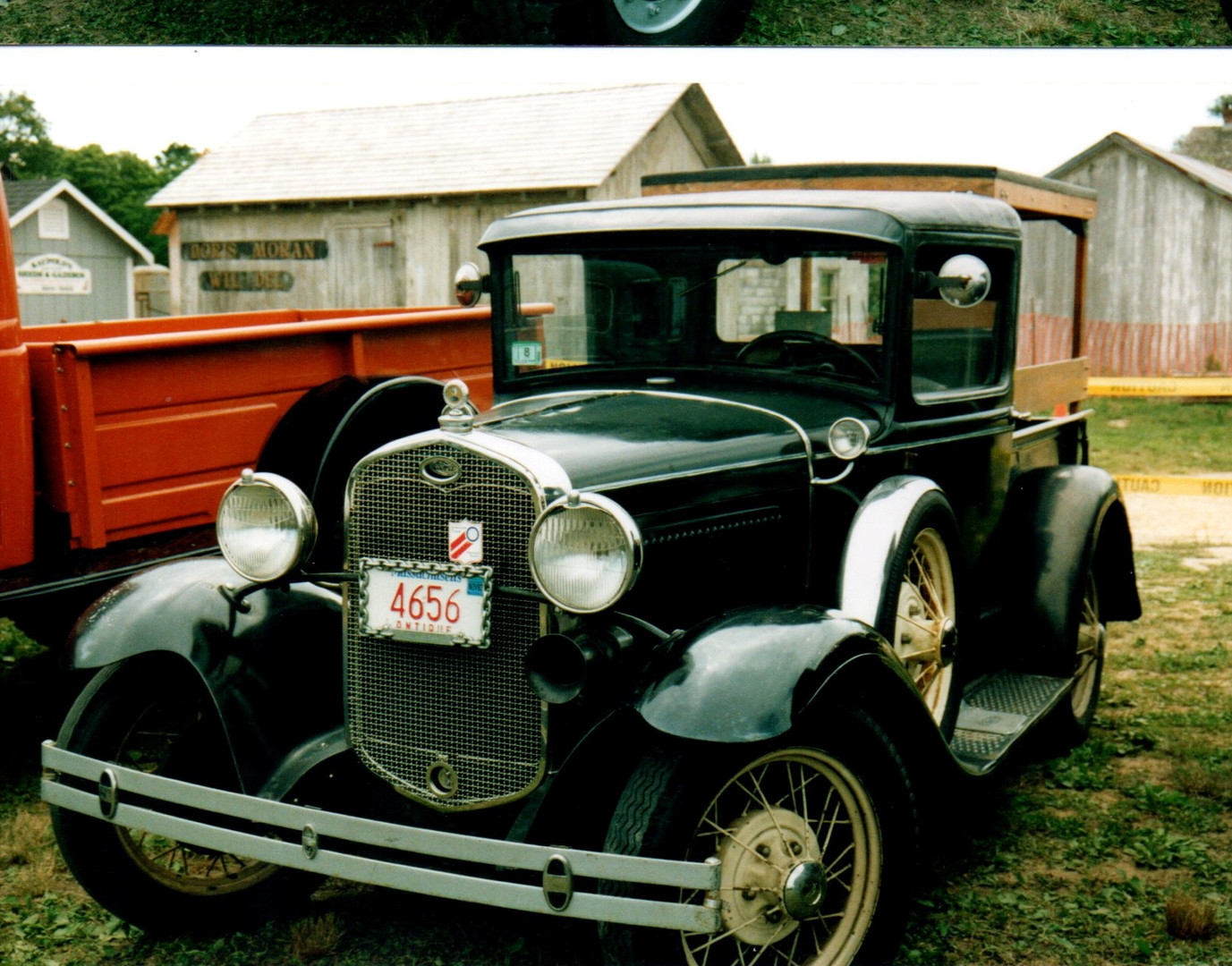1931Ford Model A pickup from Massachusetts