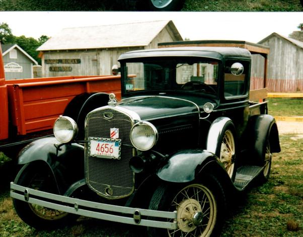 1931Ford Model A pickup from Massachusetts