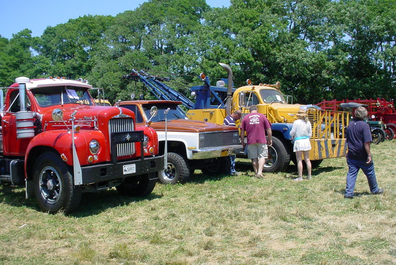 1962 Mack B-613SX tractor from Rhode Island