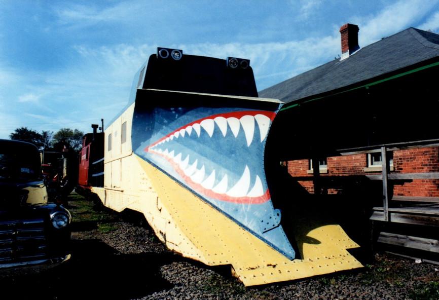 Long Island Railroad snow plow