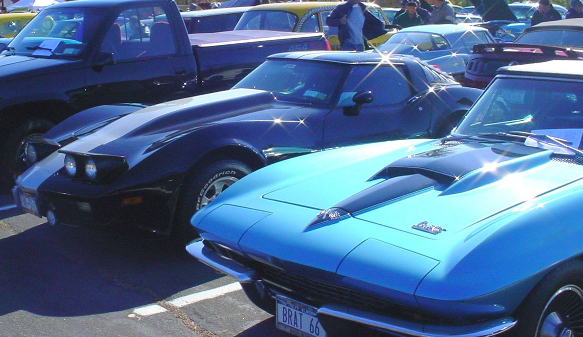Many Corvettes were on display throughout the show