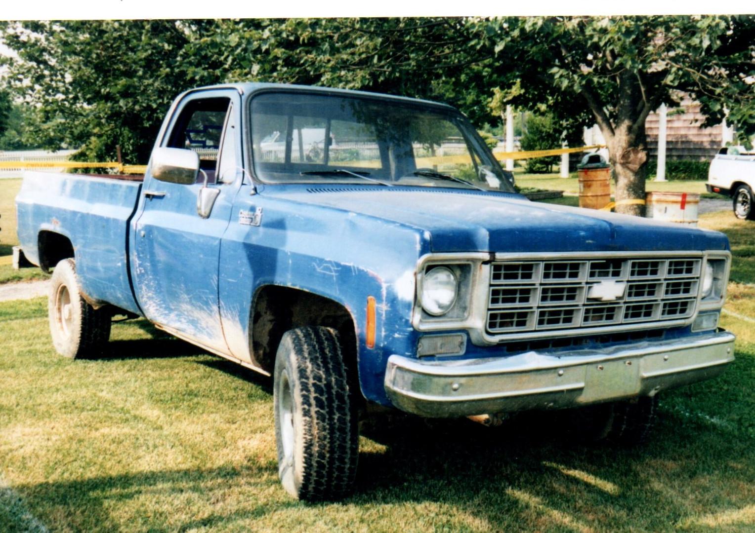 1976 Chevrolet pickup - Steve Wolbert
