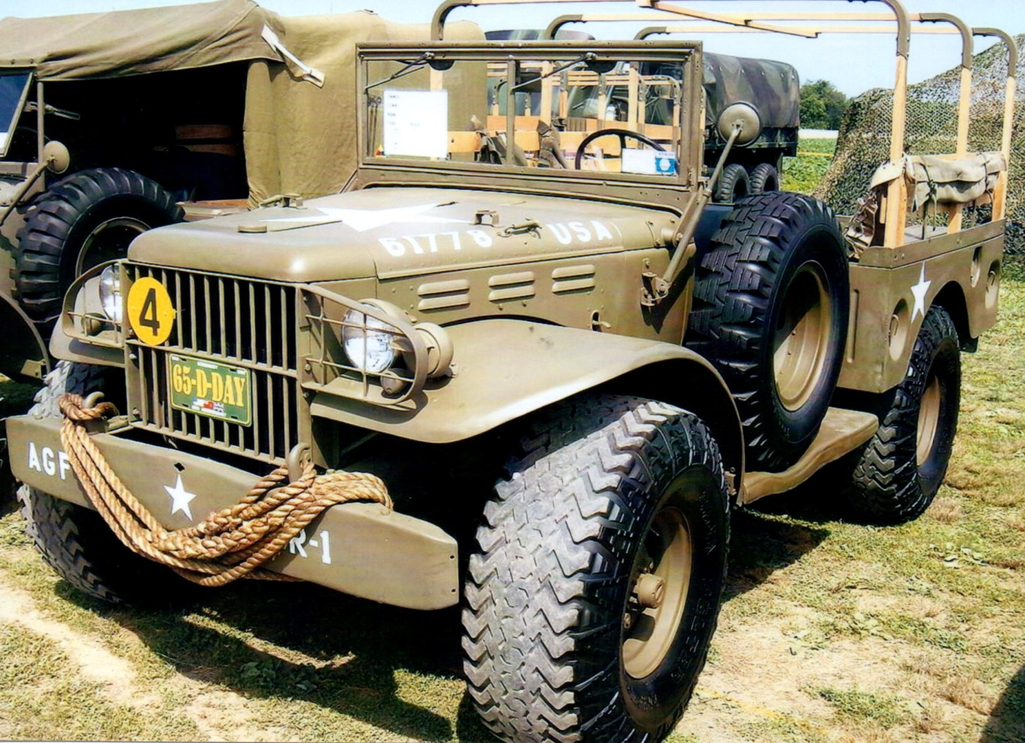 1942 Dodge WC52 weapons carrier - Greg King