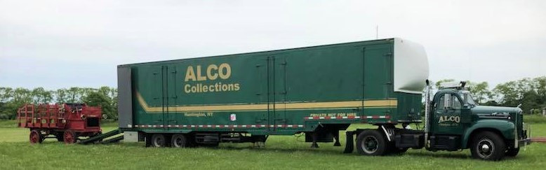 1912 Alco stakebed & 1964 Mack tractor