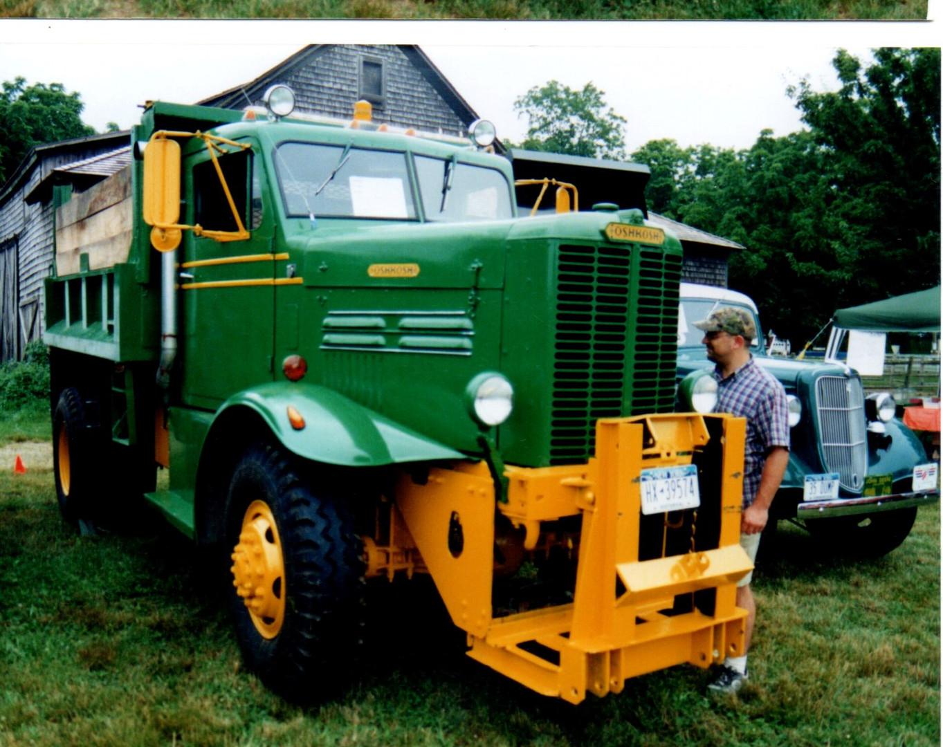 1957 Oshkosh W-712 dump - Robert Viscardi
