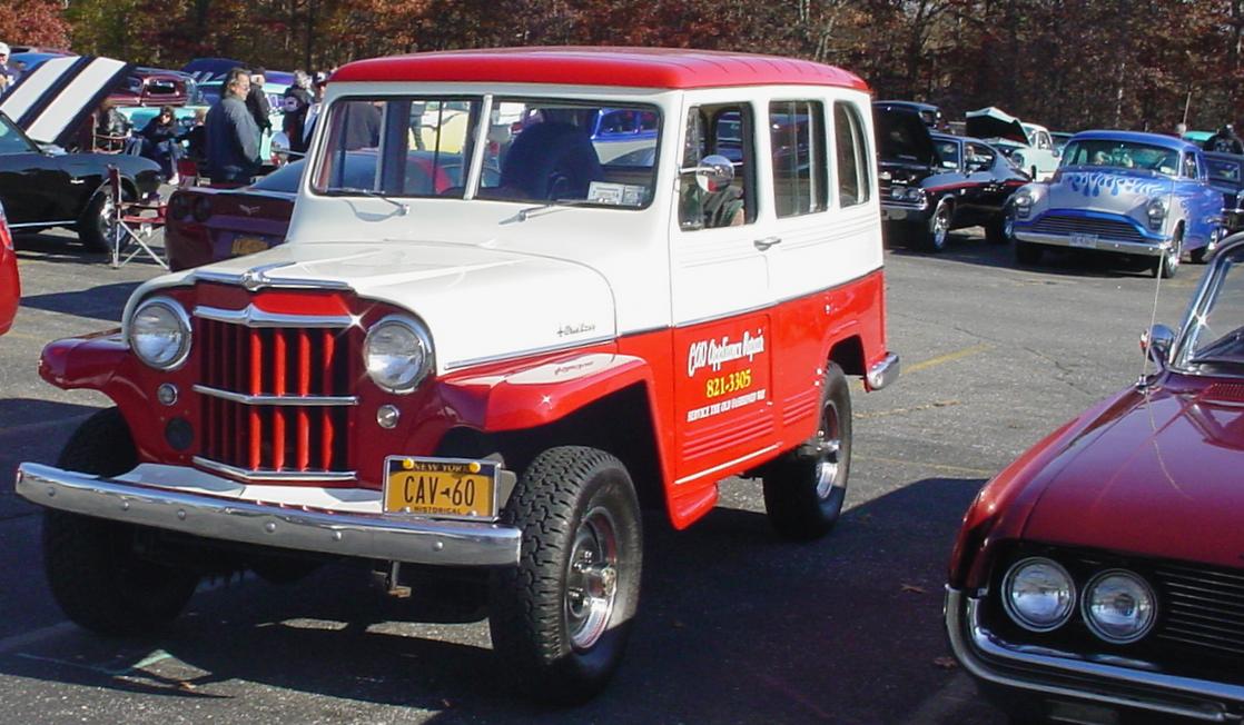 1960 Willys Jeep station wagon