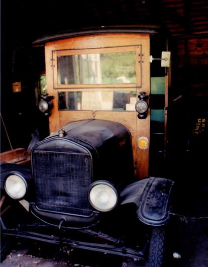 Ron Bush's 1927 Ford TT pickup