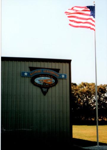 First Stop - the Bayport Aerodrome