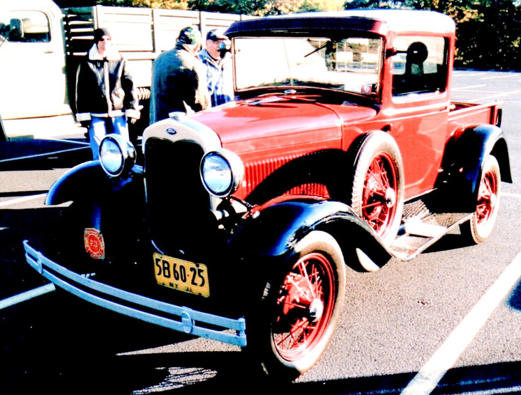 Walter Blessing's 1931 Ford Model A pickup
