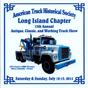 2014 Chapter Truck Show Dash Plaque 26 Remaining - .50ea.