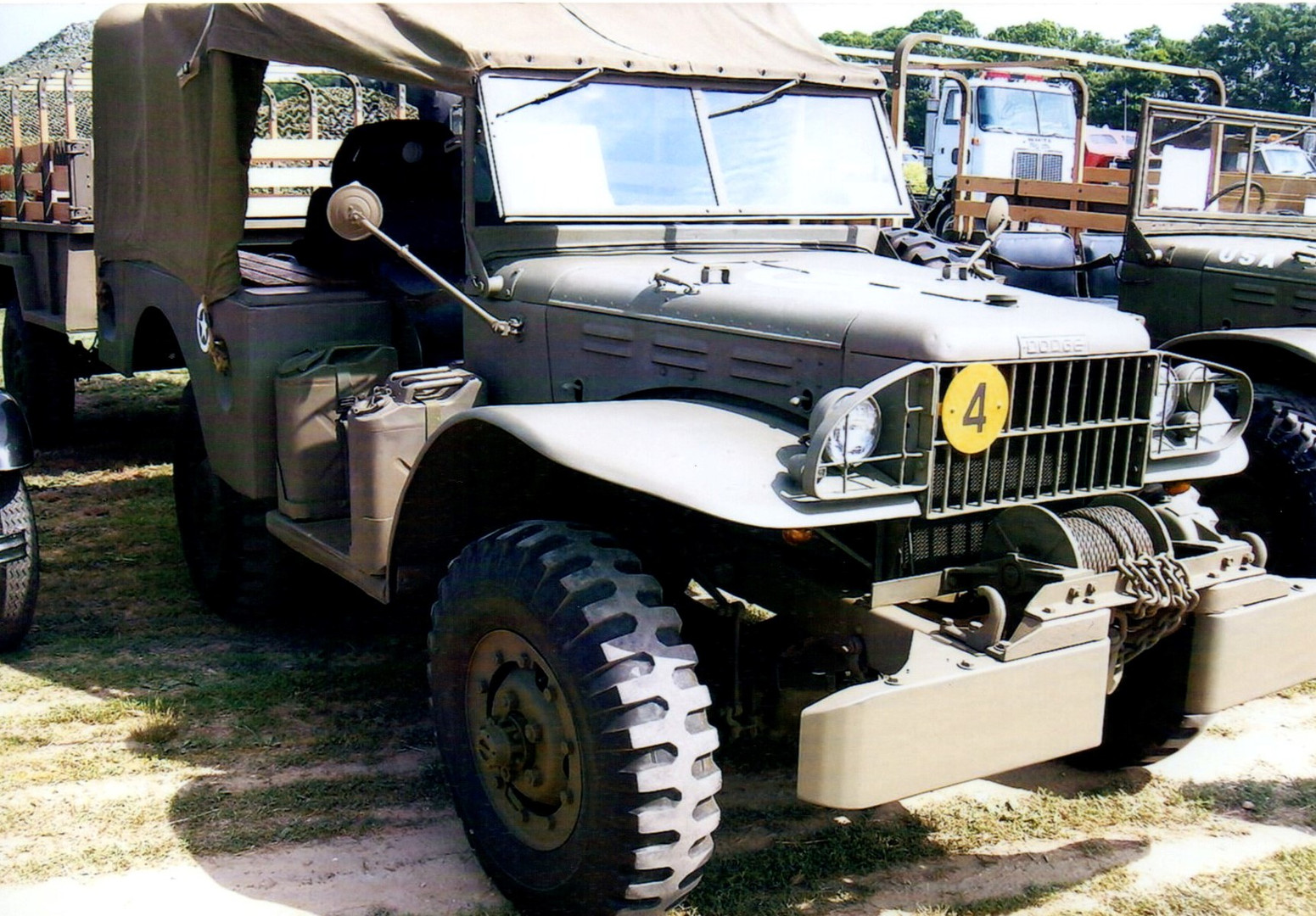 1942 Dodge WC51 weapons carrier - Greg King
